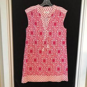 Vineyard Vines Floral Print Shift Dress Tunic S